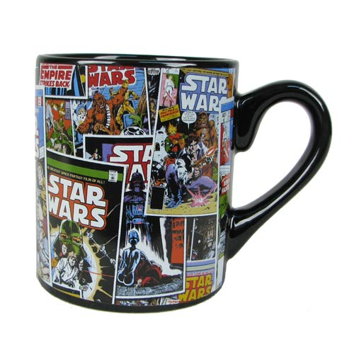 Star Wars Comic 14 oz. Ceramic Mug