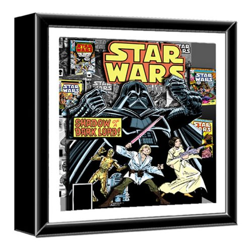 Star Wars Comic Book Dark Lord Shadowbox