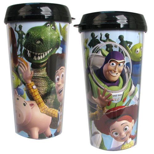 Toy Story Characters 16 oz. Travel Mug