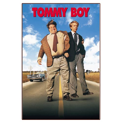 Tommy Boy Movie Poster Wood Wall Artwork