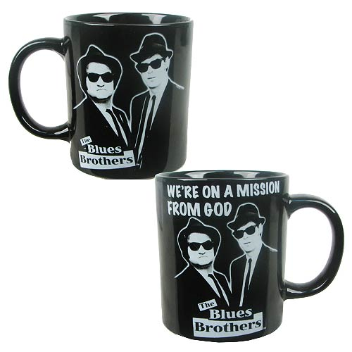 Blues Brothers Mission 14 oz. Ceramic Mug