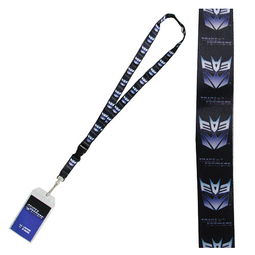 Transformers Decepticons Lanyard Key Chain with ID Holder