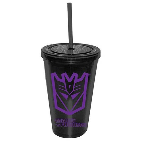 Transformers Decepticon Logo Travel Cup