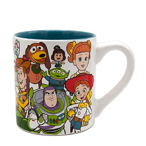 Toy Story Character Collage 14 oz Ceramic Mug