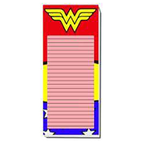 Wonder Woman Uniform Magnetic To-Do List