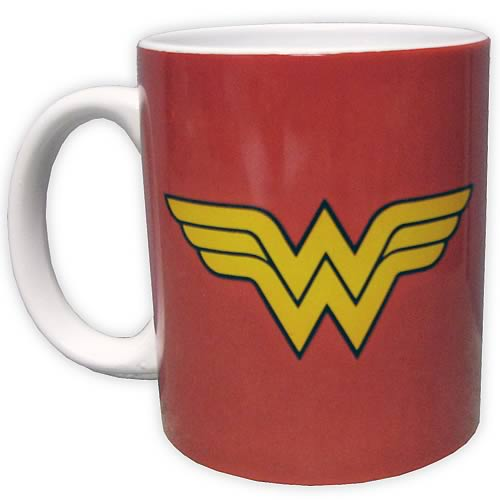 Wonder Woman Logo Red Mug