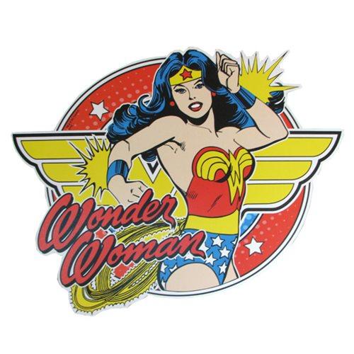 Wonder Woman Bangles Die-Cut Wood Wall Art