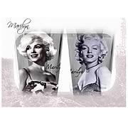 Marilyn Monroe Glass Tumbler 2-Pack