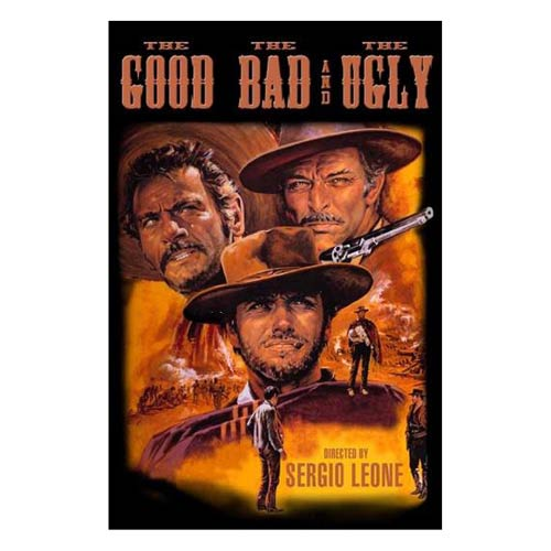 The Good, the Bad, and the Ugly Wood Wall Art