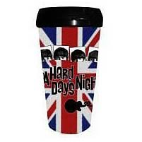 The Beatles A Hard Day's Night Union Jack Travel Mug