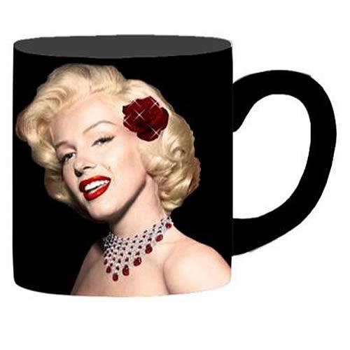 Marilyn Monroe Glitter Rose Mug