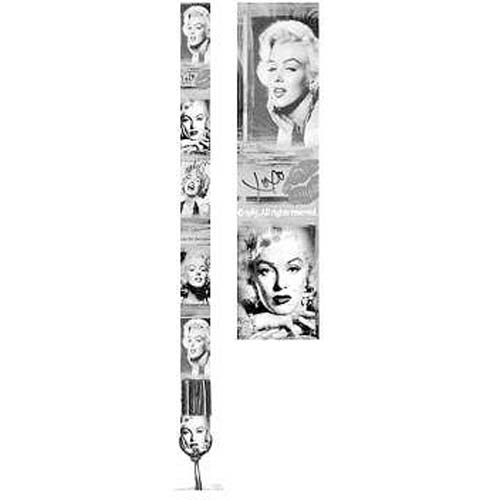 Marilyn Monroe Black and White Collage Lanyard