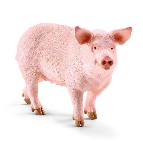 Farm World Pig Collectible Figure