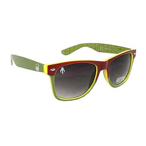 Star Wars Boba Fett Green Adult Sunglasses
