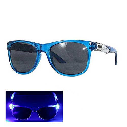 Star Wars Blue Lightsaber Light-Up Adult Sunglasses