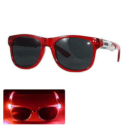 Star Wars Red Lightsaber Light-Up Adult Sunglasses