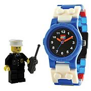 LEGO City Policeman Kids Watch with Minifigure