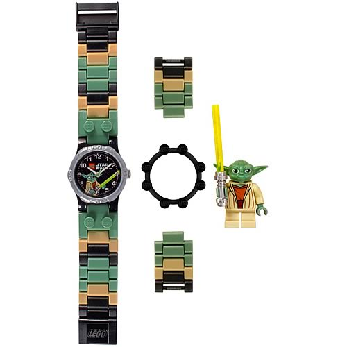 LEGO Star Wars Yoda Kids Watch with Minifigure