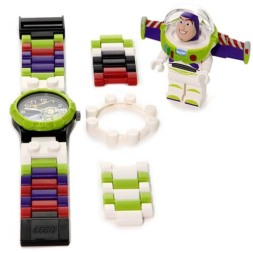 LEGO Toy Story Buzz Lightyear Kids Watch with Minifigure