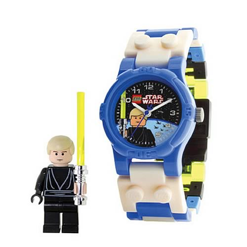 LEGO Star Wars Luke Skywalker Kids Watch with Minifigure