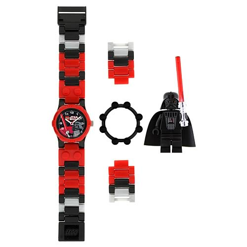 LEGO Star Wars Darth Vader Kids Watch with Minifigure