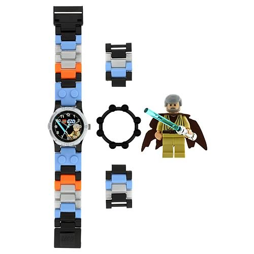 LEGO Star Wars Obi-Wan Kenobi Kids Watch with Minifigure