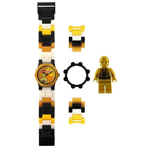 LEGO Star Wars C-3PO Kids Watch with Minifigure