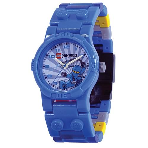 LEGO Ninjago Jay Kids Watch with Minifigure