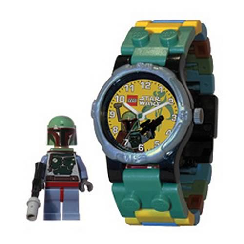 LEGO Star Wars Boba Fett Kids Watch with Minifigure