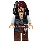LEGO Pirates of the Caribbean Jack Sparrow Clock