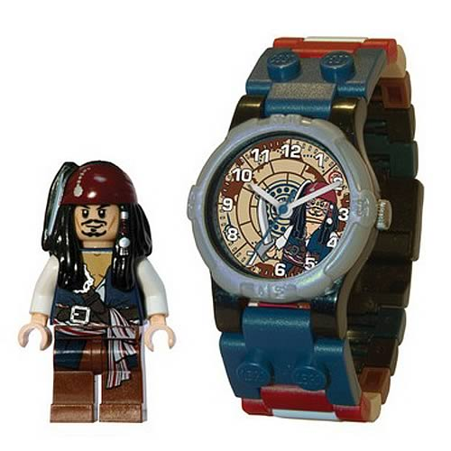 LEGO POTC Jack Sparrow Kids Watch with Minifigure
