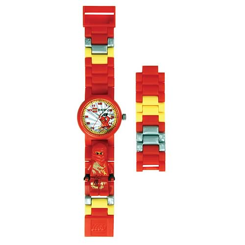 LEGO Links Ninjago Red Watch with Minifigure