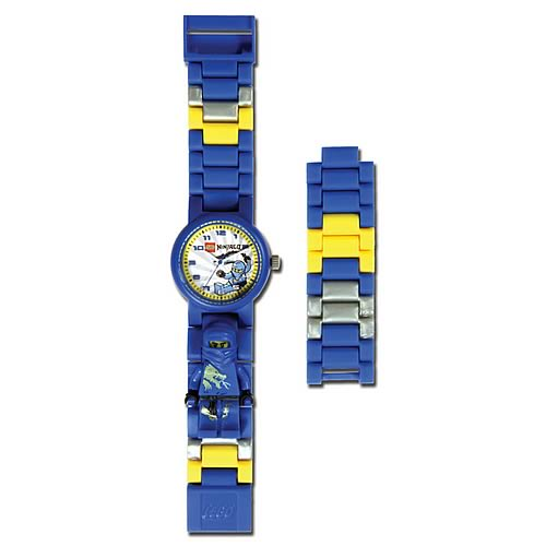 LEGO Links Ninjago Blue Watch with Minifigure