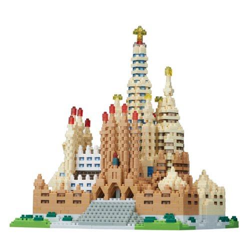 Sagrada Familia Deluxe Nanoblock Constructible Figure
