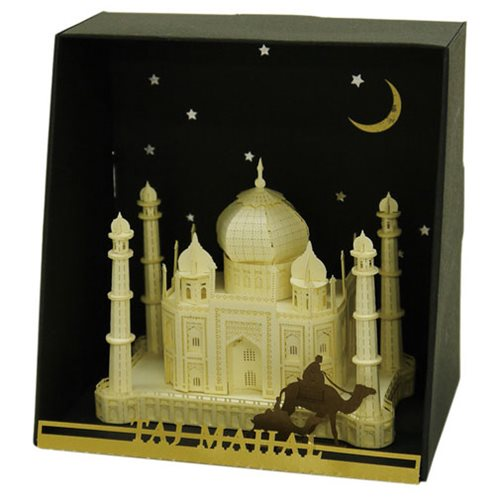 Taj Mahal Paper Nano Model Kit
