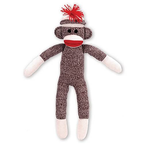 Sock Monkey 20-Inch Plush