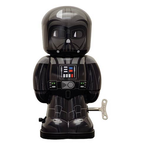 Star Wars Darth Vader 7 1/2-Inch Wind-Up Tin Toy
