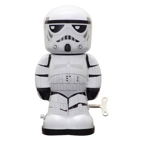Star Wars Stormtrooper 7 1/2-Inch Windup Tin Toy