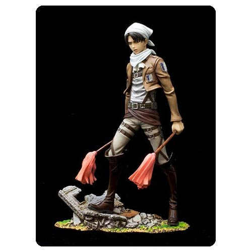 Attack on Titan Levi Cleaning Version Brace-Act Statue