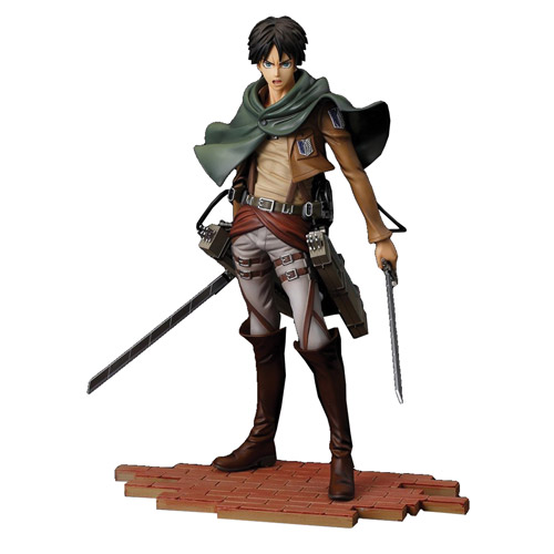 Attack On Titan Eren Yeager Brave Act 1 8 Scale Statue