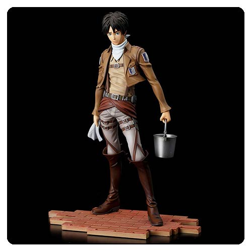 Attack on Titan Eren Yeager Cleaning Brave-Act Statue