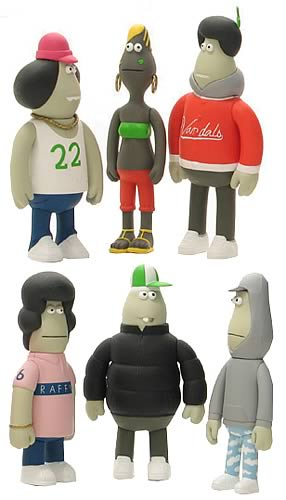 The Young Ruffians Figure Set