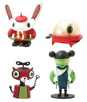 Mini Scarygirl Figure Collection Series C