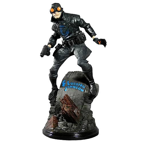Classic Heroes Hellboy Lobster Johnson Statue