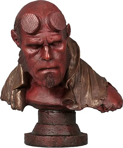 Hellboy Life-Size Faux-Bronze Bust