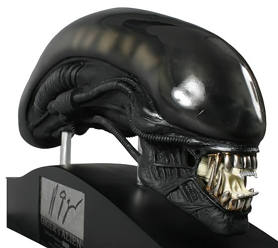 H. R. Giger Alien 1:4 Scale Bust