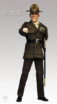 R Lee Ermey Action Figure Lee Ermey (R-Rated) 12...