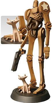 Ashley Wood's Popbot 15-inch Statue