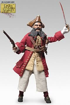 Blackbeard the Pirate 12-inch Figure