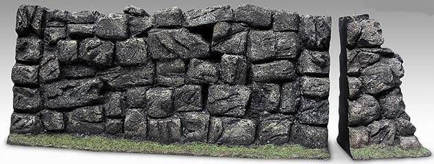 1:6 Stone Wall Display